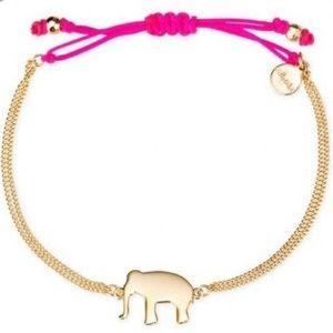 Stella & Dot Wishing Elephant Bracelet
